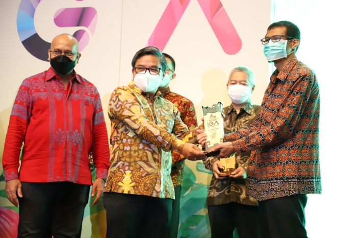 Pupuk Kujang Raih 6 Penghargaan The Best Indonesia Green Awards 2021